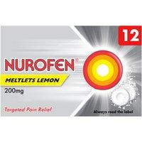 Nurofen Ibuprofen 200mg Meltlets Lemon