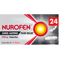 Nurofen Long Lasting relief 300mg Prolonged Release Capsules