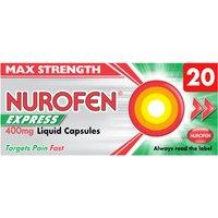 Nurofen Ibuprofen 400mg Liquid Caps