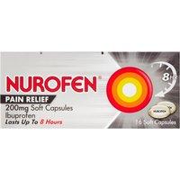 Nurofen Joint   Back 200mg Soft Capsules 16s