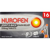 Nurofen Joint & Back 256mg Tablets