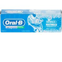 Oral-B Complete Toothpaste and Mouthwash