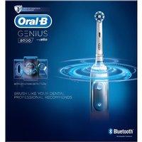 Oral B Genius 8000 Silver Electric Toothbrush