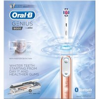 Oral B Genius 9000 Rose Gold Electric Toothbrush