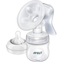 Philips Avent Manual Breast Pump With Bottle