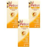 Piriton Syrup 150ml  Triple Pack