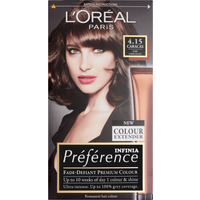 L'Oreal Paris Preference Infinia 4.15 Caracas Iced Chocolate Hair Dye