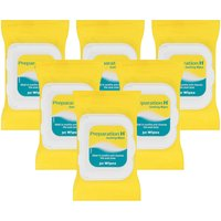 Preparation H Soothing Wipes - 6 Pack