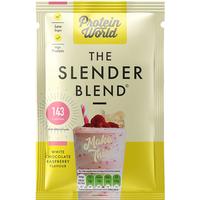 Protein World Slender Blend White Chocolate & Raspberry Sachet Box