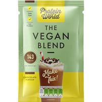 Protein World Vegan Blend Chocolate Sachet Box