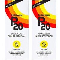 Riemann P20 OAD Sun Filter SPF15 200ml x 2