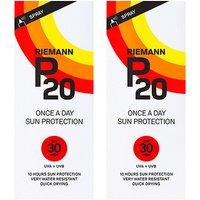 Riemann P20 OAD Sun Filter SPF30 200ml x 2