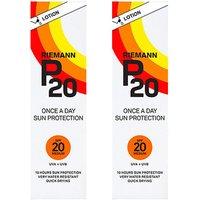Riemann P20 Once A Day Sunfilter SPF20   Twin Pack