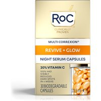 RoC Multi Correxion Revive & Glow Vitamin C Night Serum Capsules