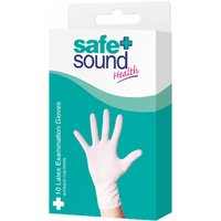 Safe & Sound 10 Latex Exam Gloves