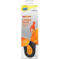 Scholl Lower Back Orthotic Insoles Large