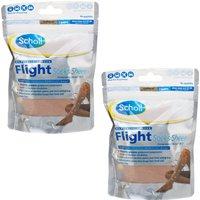 Scholl Sheer Flight Socks 2 Pairs- x 2