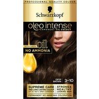 Schwarzkoft Oleo Intense 3-10 Deep Brown Permanent Hair Dye