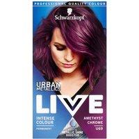 Schwarzkopf Live Urban Metallics U69 Amethyst Chrome Parmanent Hair Dye