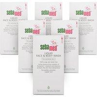 Sebamed Face & Body Wash - 6 Pack