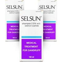 Selsun Dandruff Shampoo 2.5% - 3 Pack