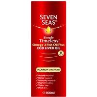 Seven Seas Cod Liver Oil Maximum Strength liquid 300ml