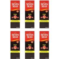 Seven Seas Pure Cod Liver Oil Liquid 450ml x6