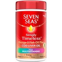 Seven Seas Cod Liver Oil Plus Multivitamin Capsules 90's