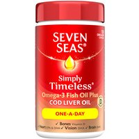 Seven Seas Cod Liver Oil One-A-Day Capsules