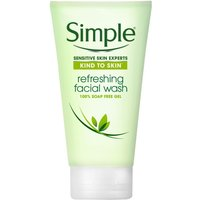 Simple Refreshing Facial Wash for Sensitive Skin