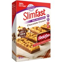 SlimFast Chocolate Crunch 4 Bars