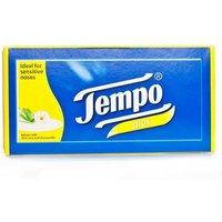 Tempo Plus Aloe & Camomile Tissues - 12 Pack