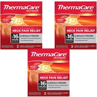 Thermacare Neck Shoulder and Wrist - 9 Heat Wraps