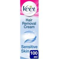 Image of Veet 5 Minute Hair Removal Cream for Sensitive Skin