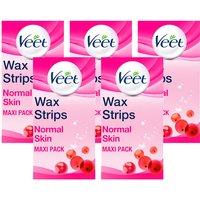 Veet Wax Strips Legs Normal 40s