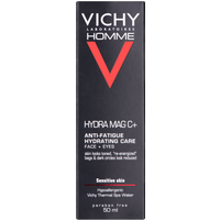 Vichy Homme Hydra Mag C+ Anti-Fatigue Hydrating Care for Face & Eyes