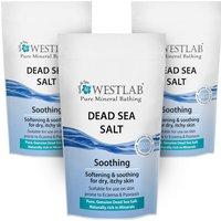 Westlab Dead Sea Salt - 3 Pack