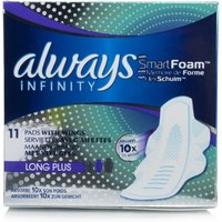 Always Infinity Long Plus Pads With Wings