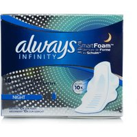 Always Infinity Night Pads With WIngs