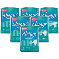 Always Maxi Normal Plus with Wings 6 Pack