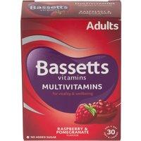 Bassetts Adult Raspberry & Pomegranate Soft & Chewies 30 Pack