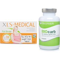 BioCARB Natural Carb Blocker & XLS Medical Fat Binder