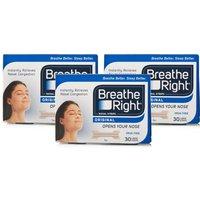 Breathe Right Nasal Strips Tan Large - 90 Strips