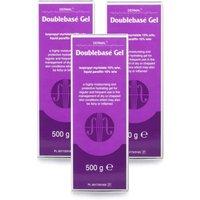Doublebase Hydrating Gel Pump 500g x 3