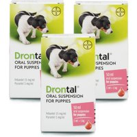 Drontal Oral Suspension For Puppies Triple Pack