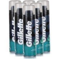Gillette Sensitive Skin Shave Gel 6 Pack