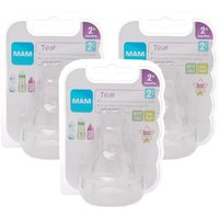 MAM Teat 2 Medium Flow 3 Pack