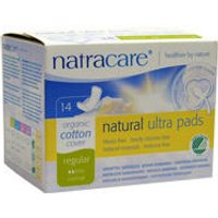 Natracare Ultra Pads Regular with Wings