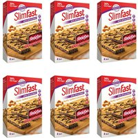 SlimFast Nutty Salted Caramel 4 Bars - 6 Pack