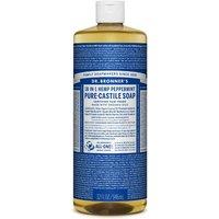 Dr Bronner Peppermint Castile Liquid Soap